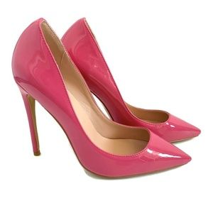 Shoes - NEW Pink Stiletto High Heels Size 9